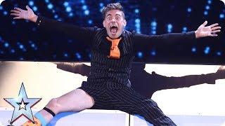 Meowgician Matt Edwards is back with more mad magic | Semi-Final 2 | Britain's Got Talent 2017