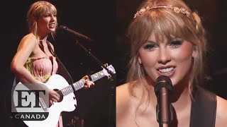 Taylor Swift Performs, Teases New Music