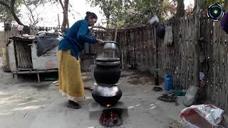 Traditional Way Making Rice Wine In Nepal HD नेपालमा परमपरागत तरिकाले रक्सी बनाउँदै ।