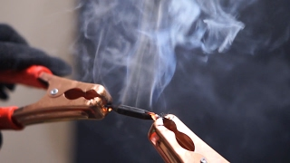 How to Start Fire With Pencil and Car Battery