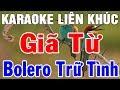 Karaoke Nhạc Sống Trữ Tình Rumba Hòa Tấu    Liên Khúc Bolero Giã Từ   Trong Hiếu