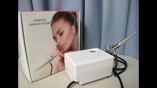 Airbrush Makeup System 12 volt review *crap product*