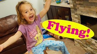 Ava is FLYING! Playing With The Kids + New Step 2 Christmas Tree DisneyCarToys Behind The Scenes