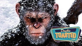 WAR FOR THE PLANET OF THE APES - MOVIE REVIEW - Double Toasted