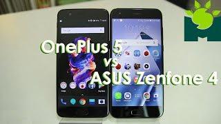 ASUS Zenfone 4 vs OnePlus 5 Comparison + Review