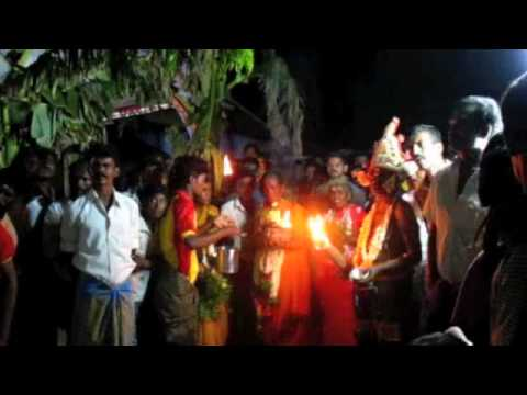 Midnight Village Festival in Tamil Nadu, near Kovilpatti