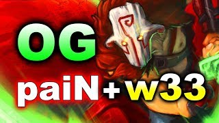 OG vs PaiN Gaming + W33 - GALAXY BATTLES 2 DOTA 2