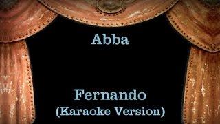 Abba - Fernando - Lyrics (Karaoke Version)