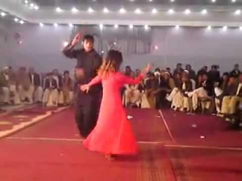 Afghan wedding girl dance