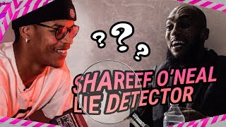 Shareef O'Neal GETS REAL On LaMelo & Zion! Talks Hooping With Justin Bieber & Quavo On Lie Detector!