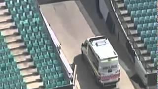 Phil Hughes Accident Injury FULL VIDEO!
