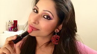 Get Ready With Me : Purple & Gold Party Eye Makeup Tutorial | Bangla
