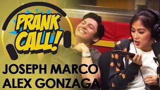 Alex Gonzaga & Joseph Marco nag-prank call sa MOR 101.9!