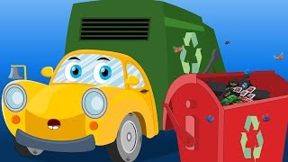 Ralph And Rocky  | Garbage Truck Song | Car Rhymes For Children
