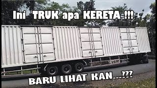 ini Truck apa Kereta?? TRUK Kontainer Hino Super Panjang BAKTI TRANS punya