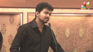 Vijay :Producers are like Mother | Jilla Audio Launch |  Mohanlal, Kajal Agarwal | Songs