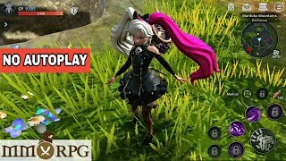 Top 16 MMORPG Without AutoPlay For Android & iOS
