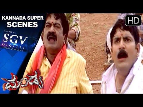 Kannada Scenes   Last Climax Scenes   Mandya Kannada Movie   Darshan, Rakshitha, Radhika