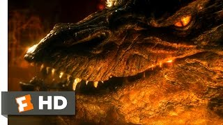 The Hobbit: The Desolation of Smaug - Lighting the Furnace Scene (9/10) | Movieclips