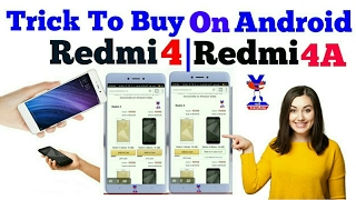 Easy Trick To Buy Redmi 4 Or Redmi 4a On Android | Live Demo | Use This Trick Get 600 MBPS Speed 😊