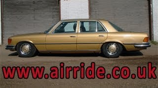 AirRide - Air Suspension Air Bag Parts Kit Installed Review Video. Drop your car in an instant.