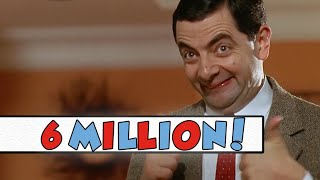 6 MILLION SUBSCRIBERS!   THANK YOU   MR BEAN OFFICIAL