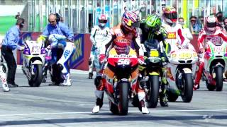 All the action from the thrilling 2012 MotoGP™ round in Misano