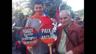 Photos - N. Lygeros: Meeting pour la Justice et la Paix. Face au consulat de Turquie à Lyon. 22/4/17