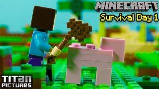 Lego Minecraft Survival 1
