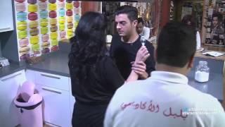 مقلب بين رافاييل جبور و حنان الخضر بعد البرايم السادس - ستارأكاديمي 11