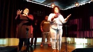 Lady Love ASL Poetry Lovin' Cup Feb 20, 2016 Dee Herrera interpreting