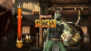 Mortal Kombat 9 Komplete Edition - Challenge Tower #228 | Test Your Might