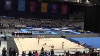 Australian Gymnastics Championship 2014 RG Display