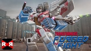 TRANSFORMERS: Forged to Fight - Chapter 4 Act 4 - Worldwide Release Gameplay