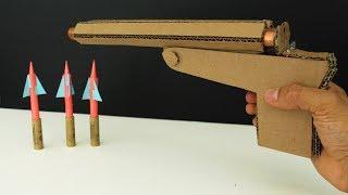 How To Build A Double Barrel Rocket Pistol