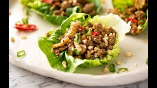 San Chow Bow (Chinese Lettuce Cups)
