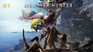 Monster Hunter World - Let's Play Ep.1 - Cut Scenes