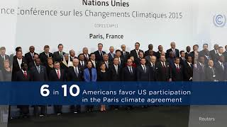 Despite US Withdrawal, Americans Want in on Paris Agreement