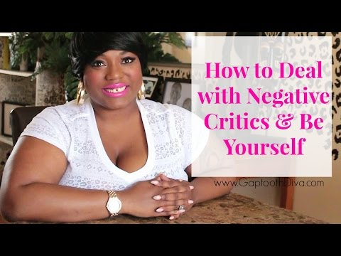 Download How to Deal with Negative Critics & Be Yourself