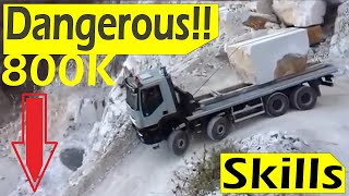 Amazing Trucks Driving Skills compilation | Dangerous Truck Driving Skills | Best Driver Operator