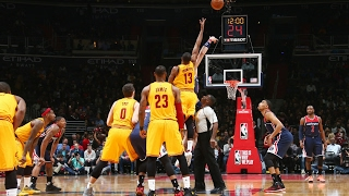 Relive the EPIC Finish from the Cavs-Wizards OT Thriller