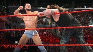 Finn Bálor furiously retaliates after Bray Wyatt's pre-match attack: WWE No Mercy 2017