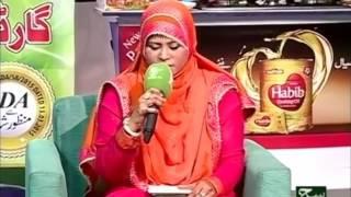 Shazia Khalid on Marhaba Sehri 02 july 2016 Such TV