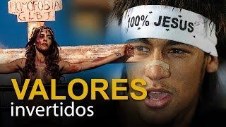 Valores invertidos: Neymar não pode, manifestante gay pode?
