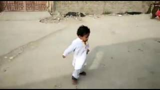 Baby Dance Amazing. Dadu Sindh Pakistan