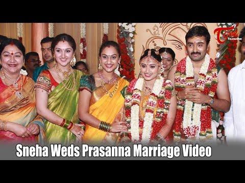 Sneha Weds Prasanna Marriage Video