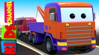 3D Car Garage | MUV | Toy Car Factory | Video For Kids