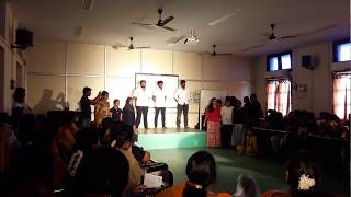 the eagle chief as the cattle thief drama by ''Curtain calls'' Madras University English Department
