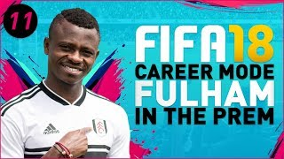 FIFA18 Fulham Career Mode Ep11 - NASTY RED CARD!!