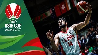 Unstoppable Arsalan Kazemi (19pts 10reb) leads Iran to FIBA Asia Cup Final